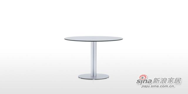 DFT6566 玻璃圆餐台-1