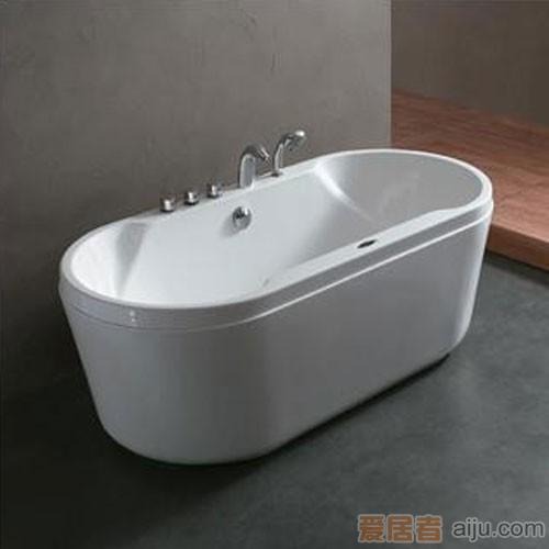 法恩莎五件套压克力浴缸FW004Q(1700*810*620mm)1