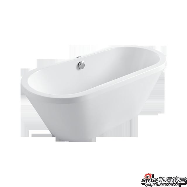 恒洁卫浴浴缸HLB621KNA1-160