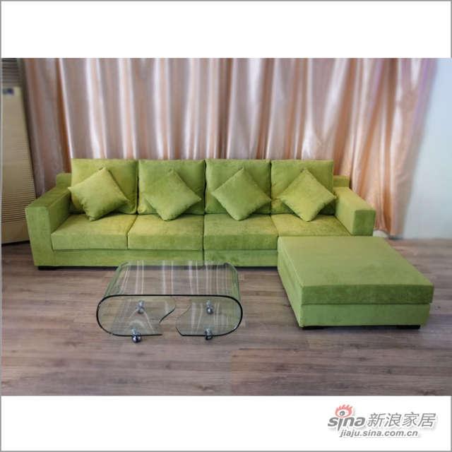 CS118 转角 沙发 客厅 时尚软件家具 佰宜家居
