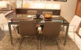 耐特利尔白餐椅