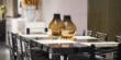 迪信DFT1500木面长方餐台