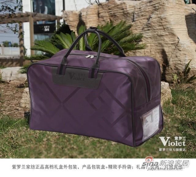 紫罗兰家纺 全棉洁菌抗菌防螨纯棉被子被芯-3