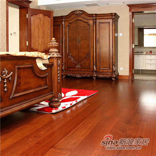 德合家Mef三层实木复合地板ES101独拼玛宝