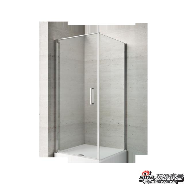 恒洁卫浴淋浴房HLG07F21