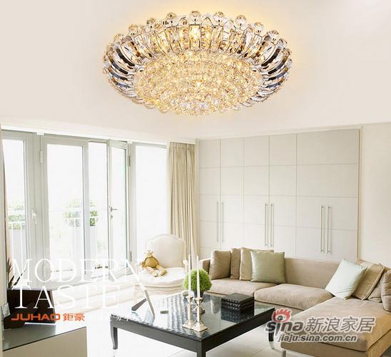 钜豪LED分段遥控吸顶灯MX89046 大功率LED800mm