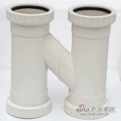 世丰PVC-U消音H管-0