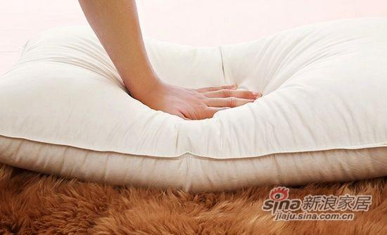 盛宇家纺优质白鸭绒羽绒枕芯-3