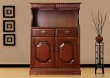 蓝鸟家具 多功能储物收纳储藏置物柜 褐色