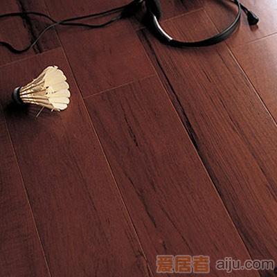 比嘉-实木复合地板-雅舍系列:泰柚(910*125*15mm)1