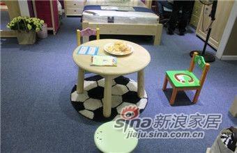 ABC实木儿童家具小圆桌-0