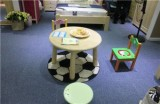 ABC实木儿童家具小圆桌