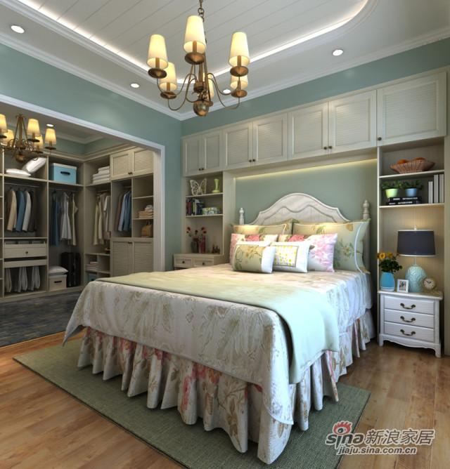 升达爱琴海·田园系列卧室衣柜