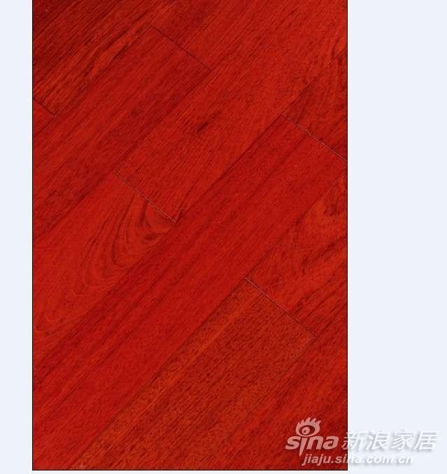 上臣孪叶苏木4-L-2实木地板  -0