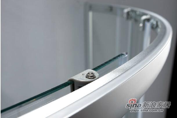 九牧整体浴室钢化玻璃淋浴房-2