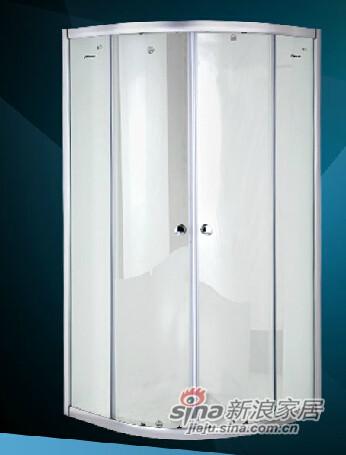 九牧整体浴室钢化玻璃淋浴房-4