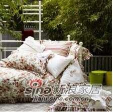 紫罗兰家纺床品全棉活性印花床群六件套美丽梦VPEJ001-6-0
