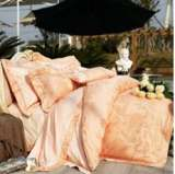 紫罗兰家纺床上用品全棉仿丝棉提花四件套花之彩VPEA512-4