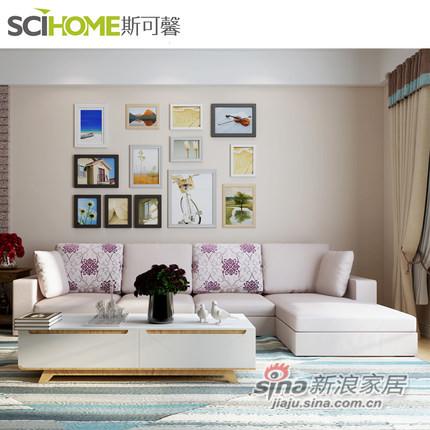 斯可馨 时尚多功能布艺沙发 可拆洗布沙发SKX-TMI001-1