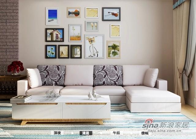 斯可馨 时尚多功能布艺沙发 可拆洗布沙发SKX-TMI001-2