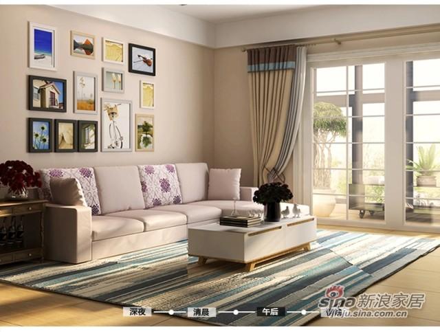 斯可馨 时尚多功能布艺沙发 可拆洗布沙发SKX-TMI001-3