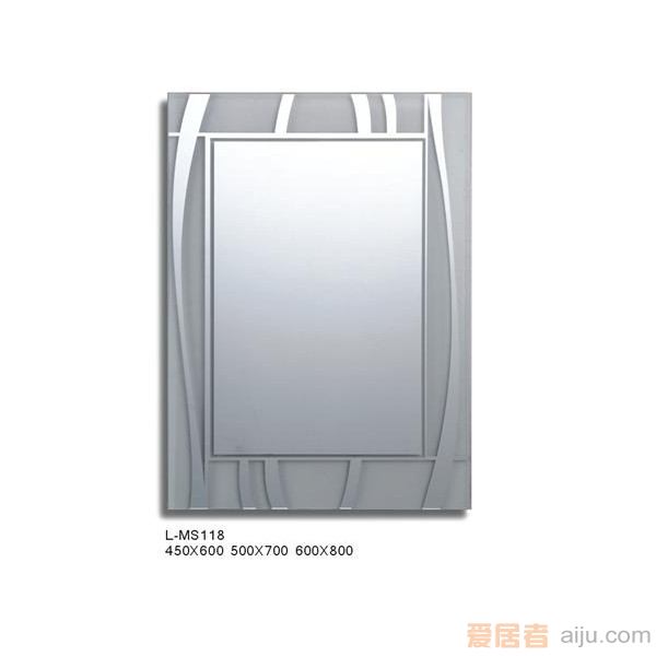 派尔沃铝框镜-M1105-MS118(600*450*140MM)