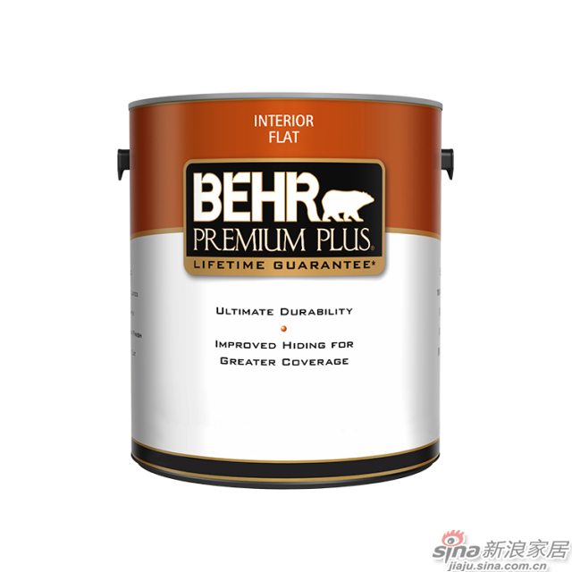 百色熊超级室内哑光涂料 1加仑