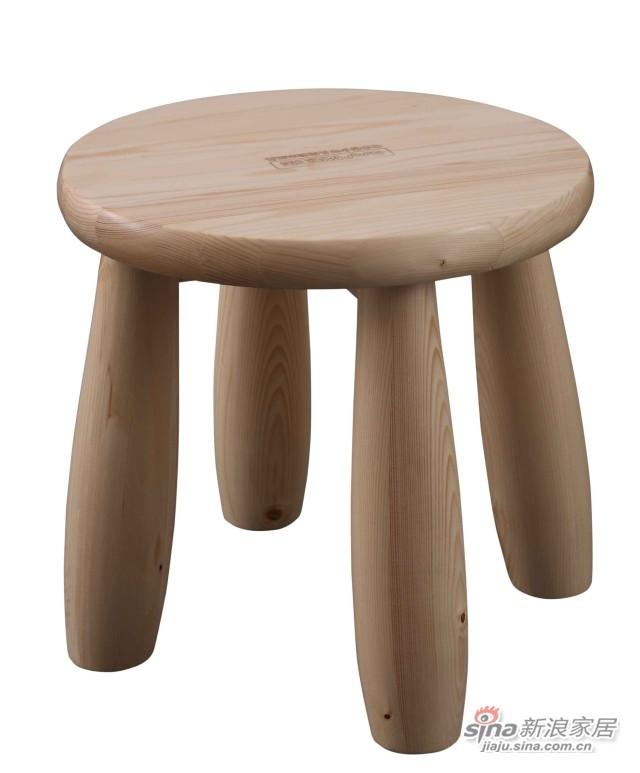松堡王国P010小圆脚凳