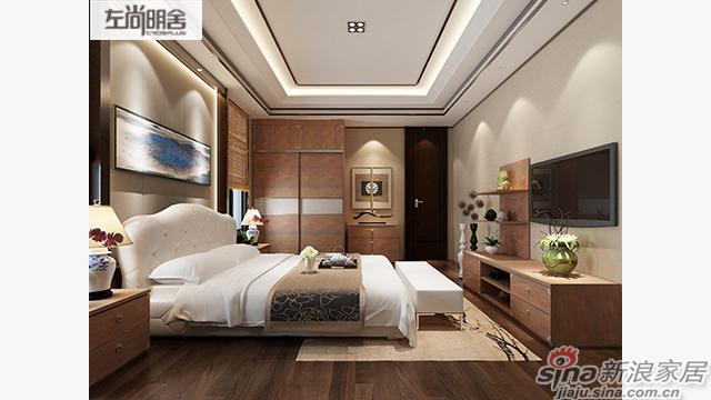 左尚明舍中式卧室、衣柜-1