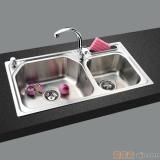 GORLDE优质不锈钢水槽/洗菜池 莱茵系列LY03(大小盆)