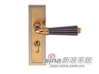 雅洁AS2051-H71118-7281中锁英文锁体+70中文铜锁胆-0