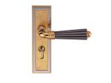 雅洁AS2051-H71118-7281中锁英文锁体+70中文铜锁胆