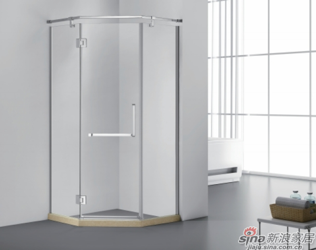 SH2-3141Z钻石型二固一开沐浴房-0