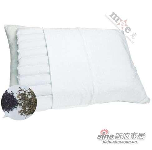 梦洁家纺床上用品 Mee觅 茶炭枕芯 保健枕头-0