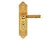 雅洁AS2021-C1111-02英文60抛铜锁体+英文76铜锁胆(第三系列)