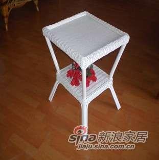 凰家御器藤茶几小茶几角几藤家具藤椅NH-R009-0