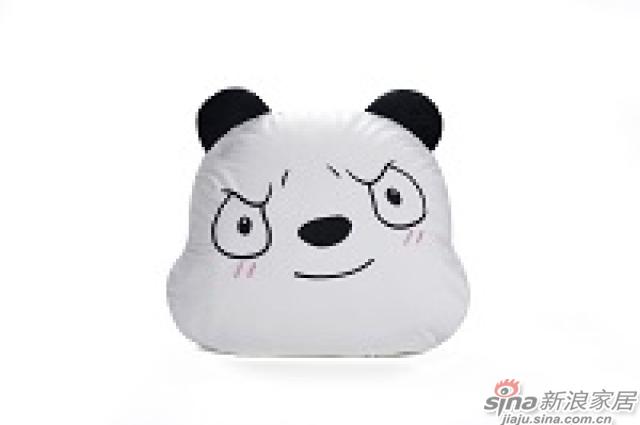 家饰摆件--熊猫抱枕