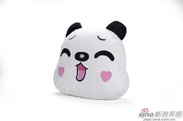 家饰摆件--熊猫抱枕-2