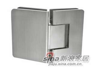 雅洁AG5313F135度-方形带圆角玻璃门铰-0