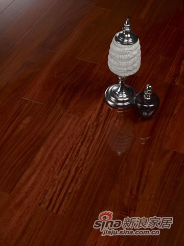 【永吉地板】实木复合平面——美树名家 红檀香