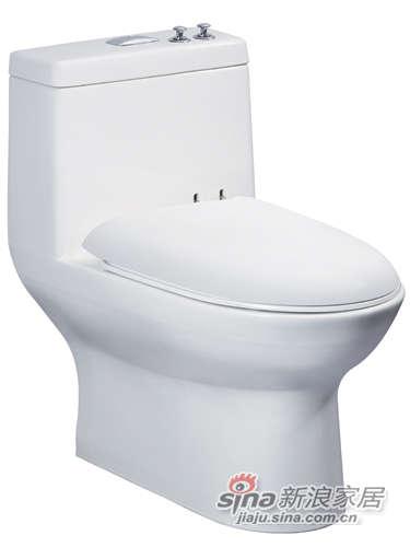 成霖高宝卫浴连体座厕-0