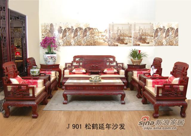 年年红松鹤延年沙发