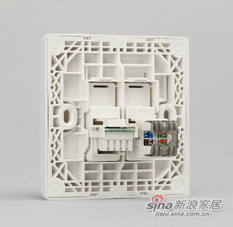 施耐德电话+电脑插座-2