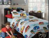 澳西奴余单*儿童床品套件炫彩赛车系列