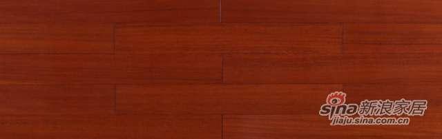 大卫地板经典实木-东南亚悠然系列S28L03榄仁木(菠萝格色淋漆)-0