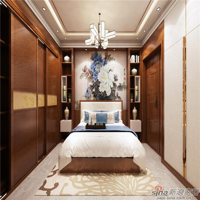清风古韵卧室-1