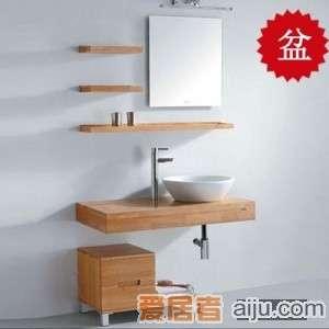 法恩莎实木浴室柜FP3637盆(810*525*225mm)1