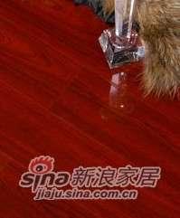 肯帝亚地板强化系列―提琴漆CV101皇家红檀-0