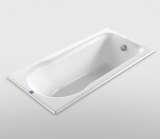 和成卫浴1.5米无裙边钢板浴缸 - F9150N