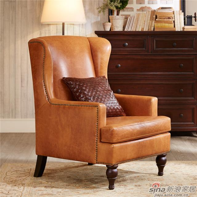 Whitman 软包休闲椅